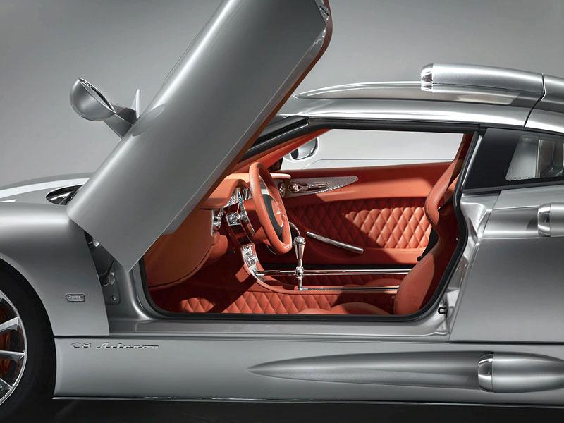 Autosalon Ženeva: Spyker C8 Aileron: - fotka 24