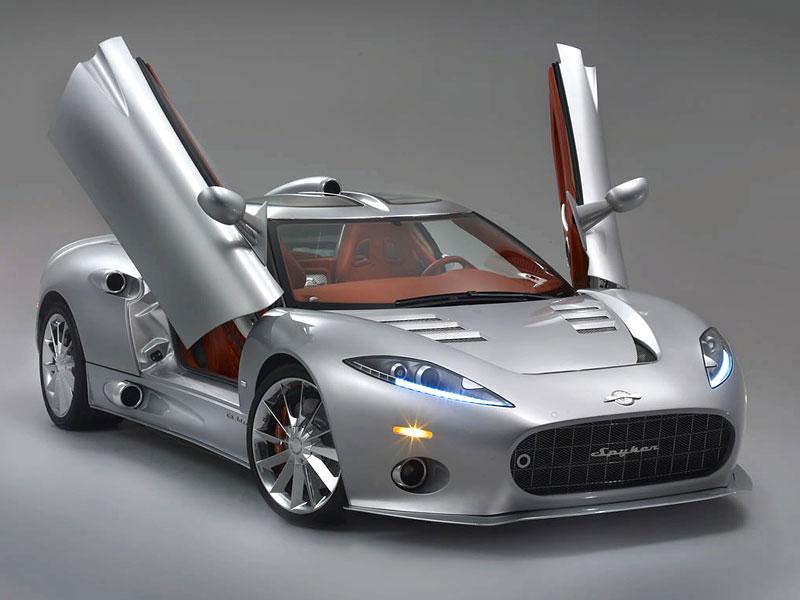Autosalon Ženeva: Spyker C8 Aileron: - fotka 28