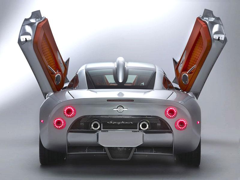 Autosalon Ženeva: Spyker C8 Aileron: - fotka 32