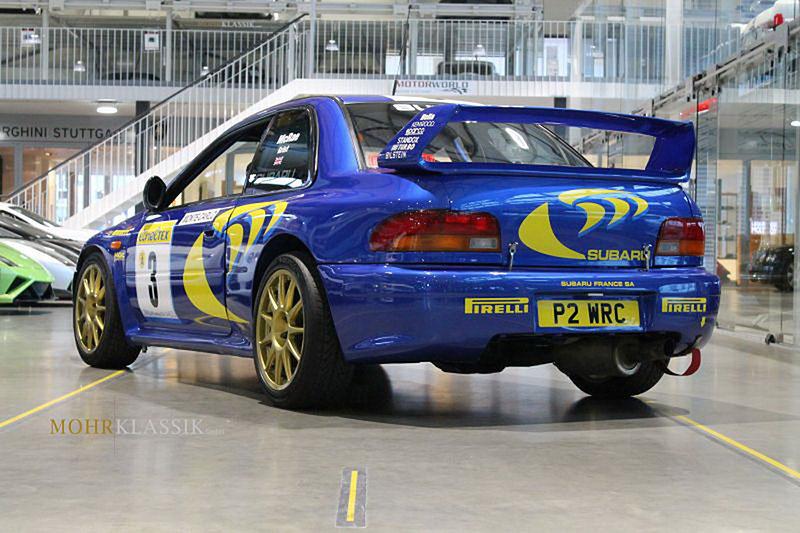 Subaru Impreza Colina McRae: Můžete si koupit kultovní WRC: - fotka 10