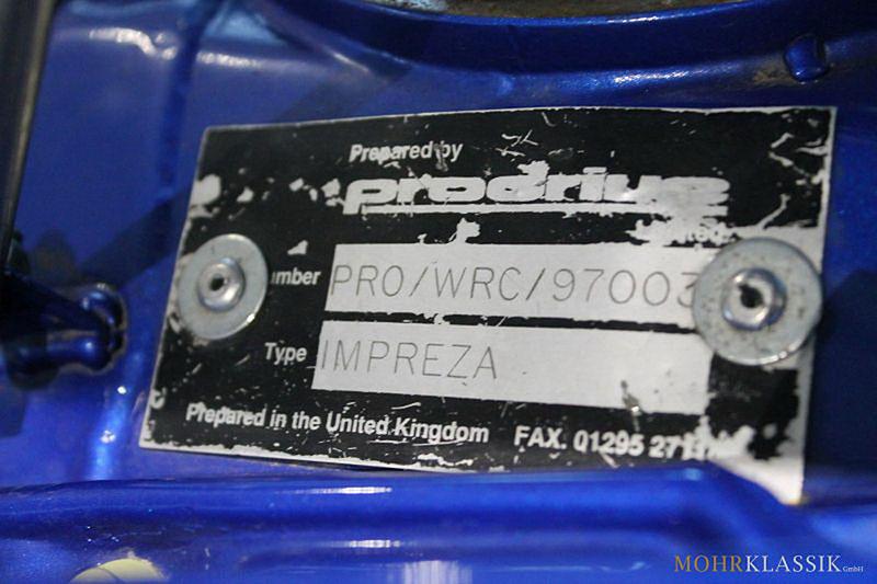 Subaru Impreza Colina McRae: Můžete si koupit kultovní WRC: - fotka 14