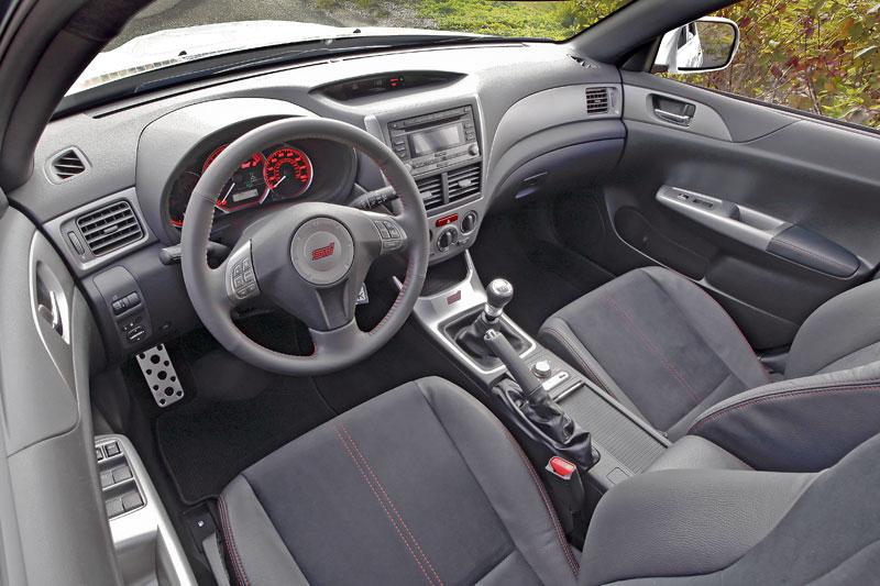 Subaru Impreza WRX STI Special Edition: lepší podvozek, méně výbavy: - fotka 2