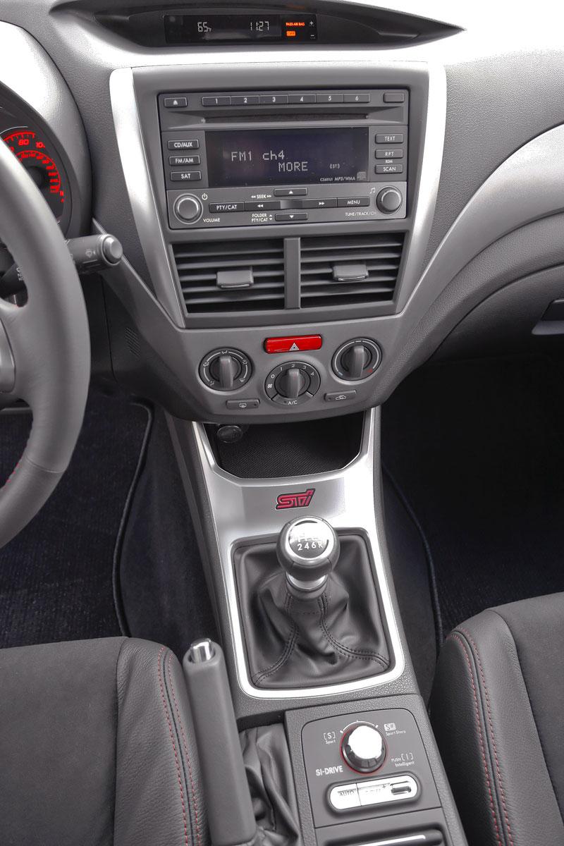 Subaru Impreza WRX STI Special Edition: lepší podvozek, méně výbavy: - fotka 3