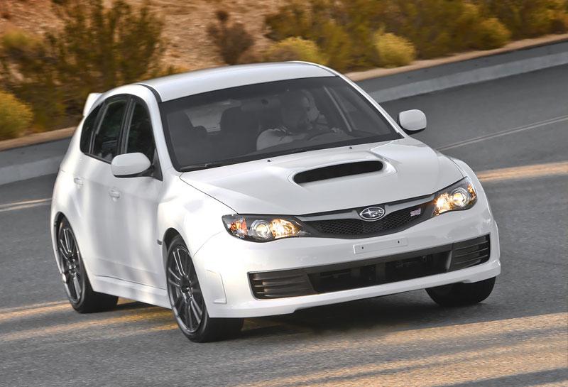 Subaru Impreza WRX STI Special Edition: lepší podvozek, méně výbavy: - fotka 8