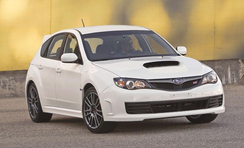 Subaru Impreza WRX STI Special Edition: lepší podvozek, méně výbavy: - fotka 10