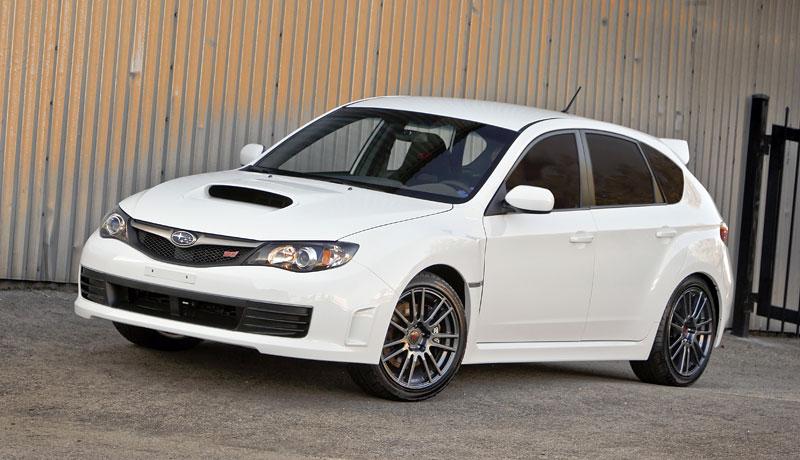 Subaru Impreza WRX STI Special Edition: lepší podvozek, méně výbavy: - fotka 12