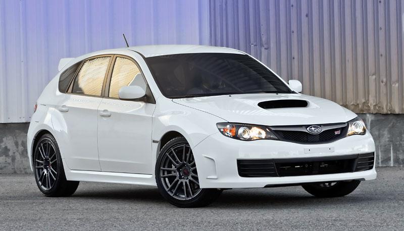 Subaru Impreza WRX STI Special Edition: lepší podvozek, méně výbavy: - fotka 15