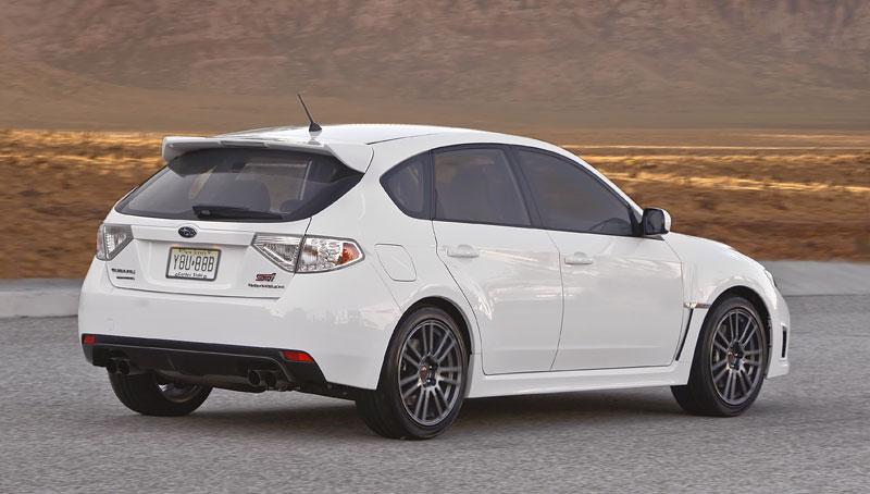 Subaru Impreza WRX STI Special Edition: lepší podvozek, méně výbavy: - fotka 17
