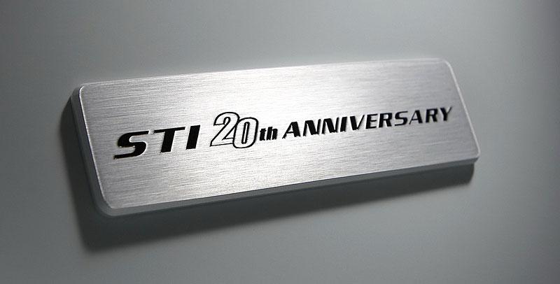 Subaru Impreza WRX STI 20th Anniversary - verze jen pro Japonsko: - fotka 24