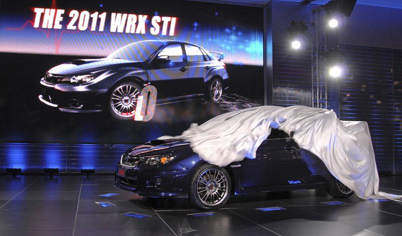 Subaru dnes zahajuje prodej nové WRX STI na českém trhu: - fotka 35