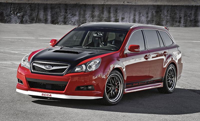 Subaru Legacy GTk: opravdu VIP koncept: - fotka 3