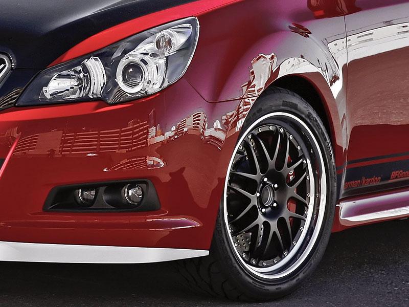Subaru Legacy GTk: opravdu VIP koncept: - fotka 6