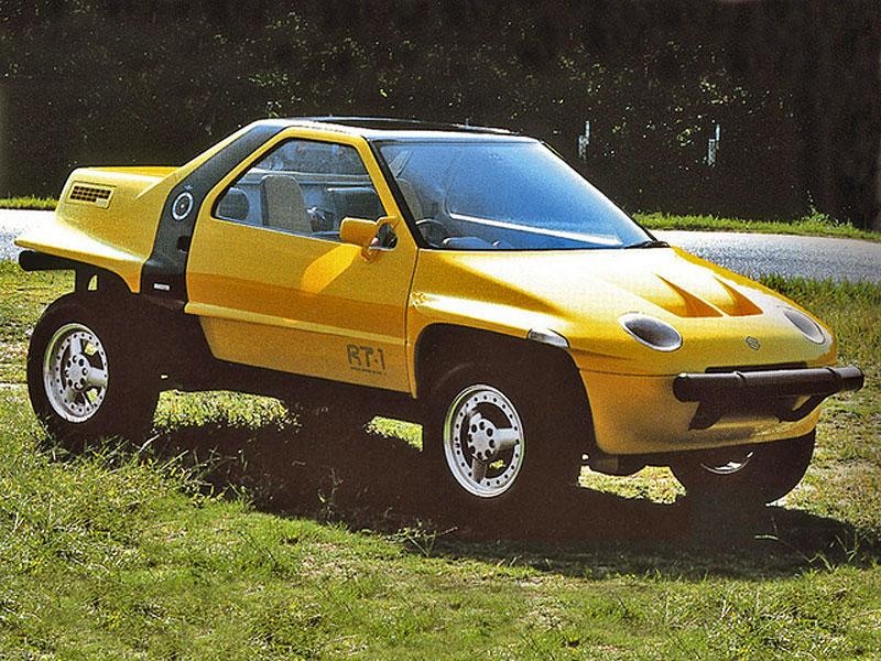 Suzuki kdysi postavilo terénní kupé s motorem uprostřed. Znáte RT-1?: - fotka 1