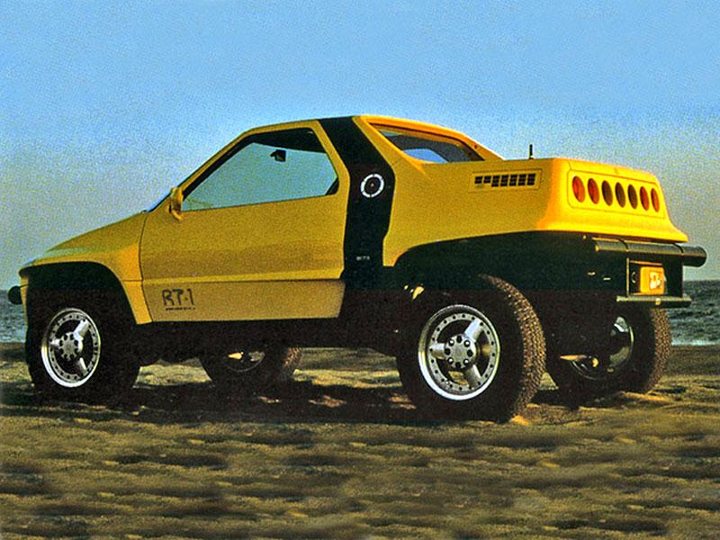 Suzuki kdysi postavilo terénní kupé s motorem uprostřed. Znáte RT-1?: - fotka 2