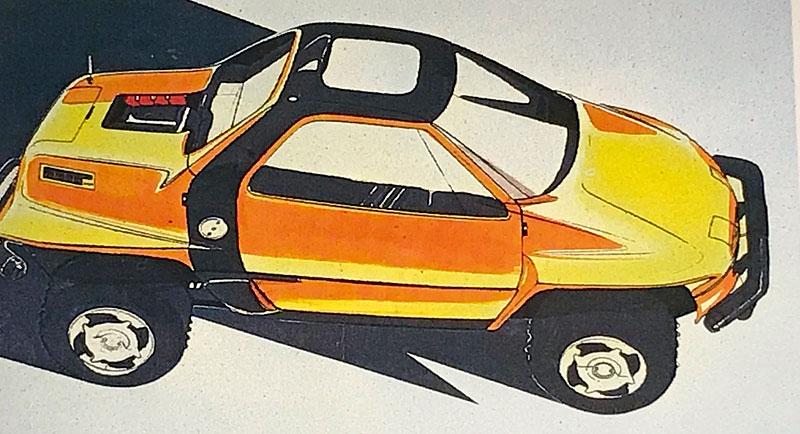 Suzuki kdysi postavilo terénní kupé s motorem uprostřed. Znáte RT-1?: - fotka 4