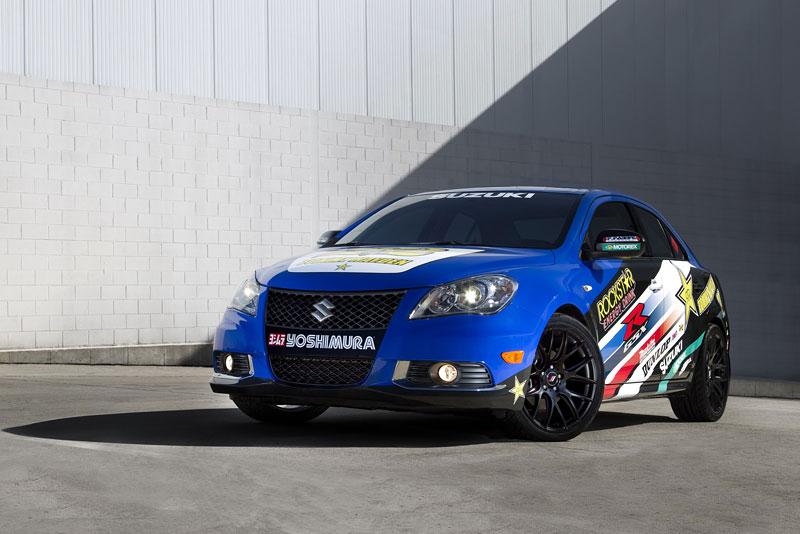 Suzuki Kizashi Apex Turbo Concept: ostrý sedan má 300 koní: - fotka 7