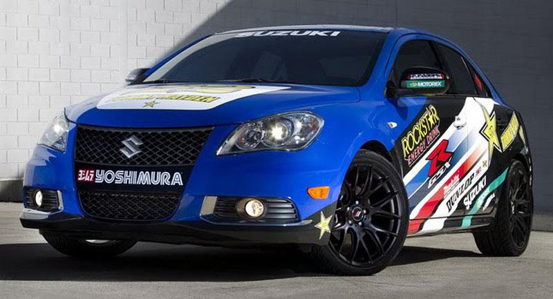 Suzuki Kizashi Apex Turbo Concept: ostrý sedan má 300 koní: - fotka 10