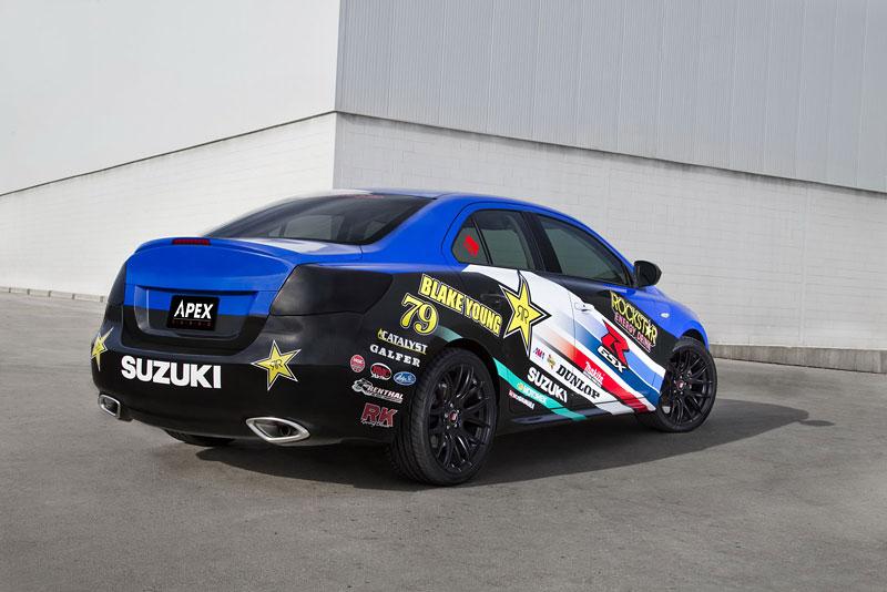 Suzuki Kizashi Apex Turbo Concept: ostrý sedan má 300 koní: - fotka 11
