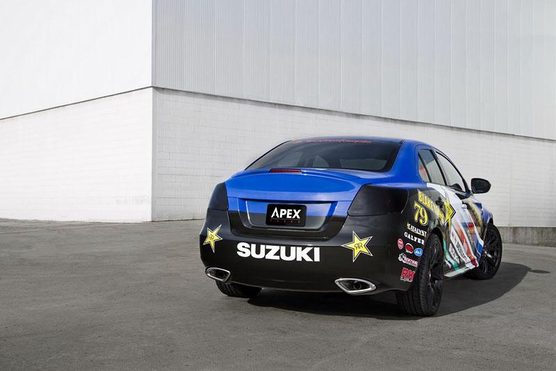 Suzuki Kizashi Apex Turbo Concept: ostrý sedan má 300 koní: - fotka 12