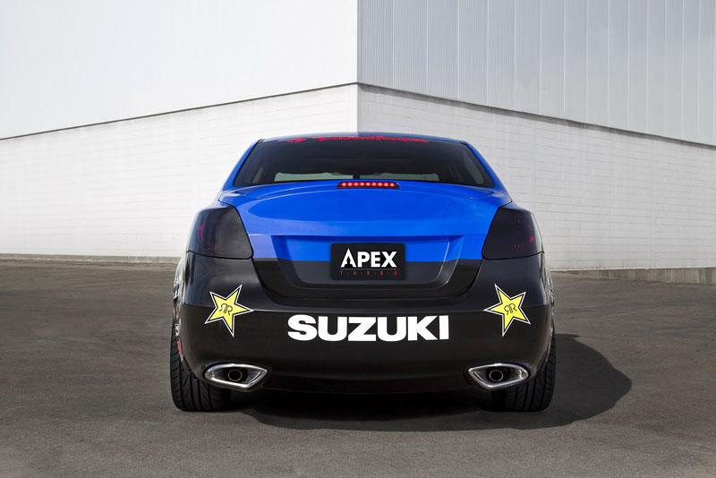 Suzuki Kizashi Apex Turbo Concept: ostrý sedan má 300 koní: - fotka 15