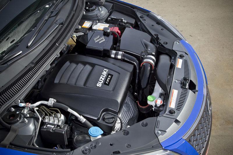 Suzuki Kizashi Apex Turbo Concept: ostrý sedan má 300 koní: - fotka 17