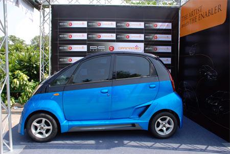 Tata Nano by DC Design: indický prcek za 4 mega: - fotka 3