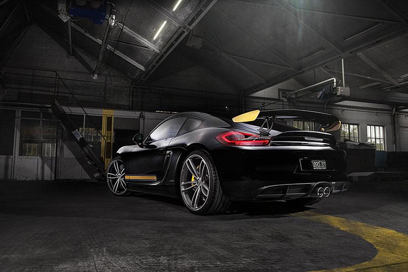 TechArt Formula IV pro Porsche Cayman GT4 a Panamera: - fotka 4