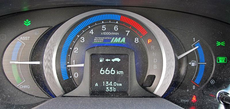 Silvestrovský test: Honda Insight: Flower power: - fotka 1