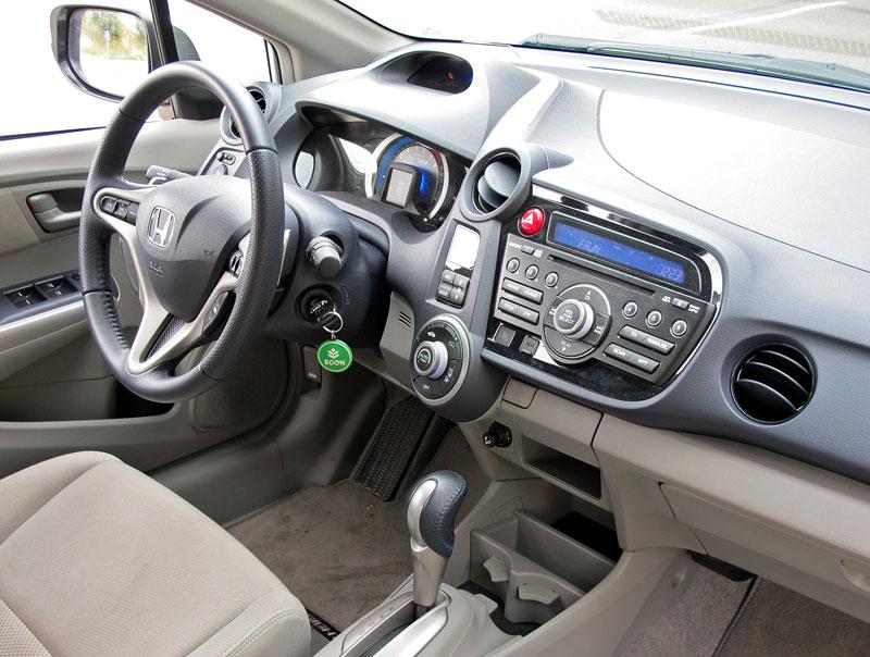 Silvestrovský test: Honda Insight: Flower power: - fotka 3