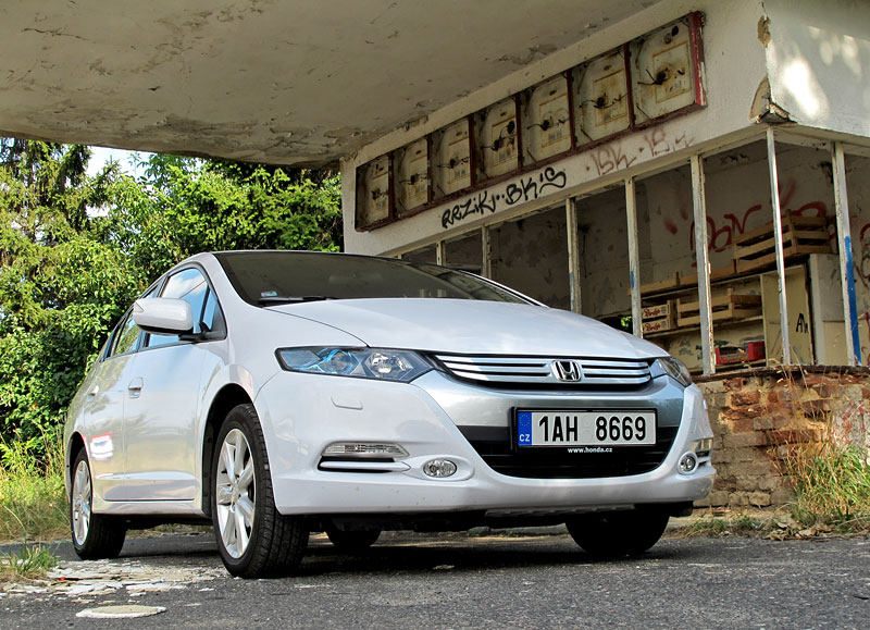 Silvestrovský test: Honda Insight: Flower power: - fotka 18