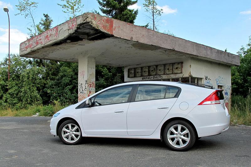 Silvestrovský test: Honda Insight: Flower power: - fotka 25