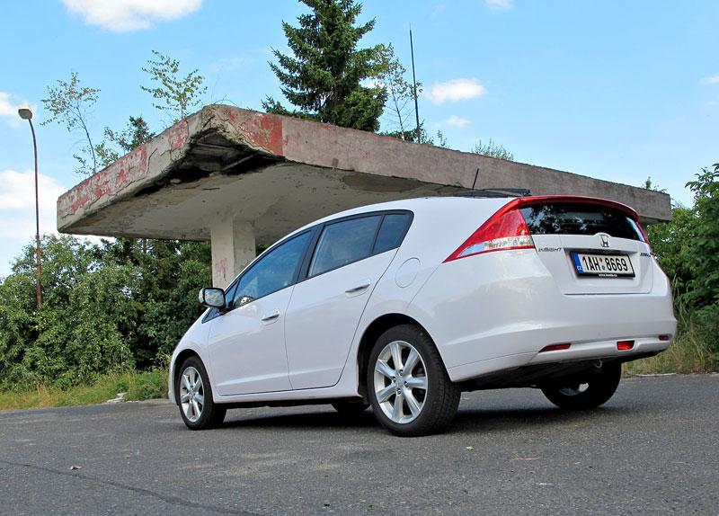 Silvestrovský test: Honda Insight: Flower power: - fotka 27