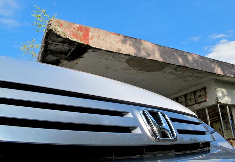 Silvestrovský test: Honda Insight: Flower power: - fotka 38