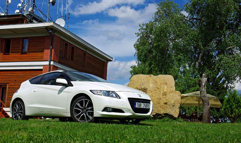Test: Honda CR-Z: CeRtovsky-Zábavná: - fotka 10
