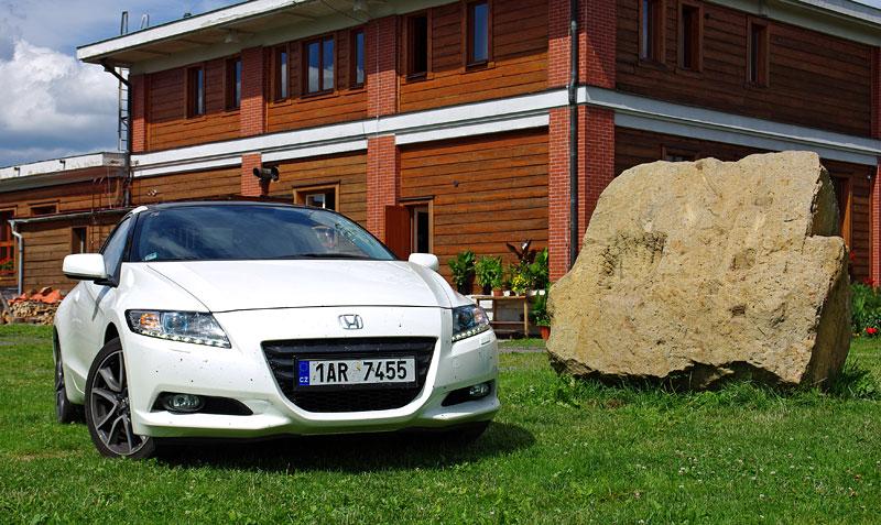 Test: Honda CR-Z: CeRtovsky-Zábavná: - fotka 12