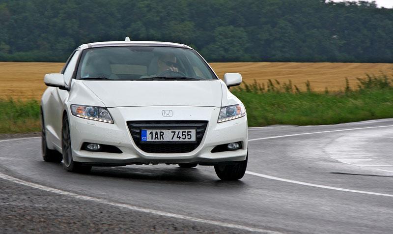 Test: Honda CR-Z: CeRtovsky-Zábavná: - fotka 16