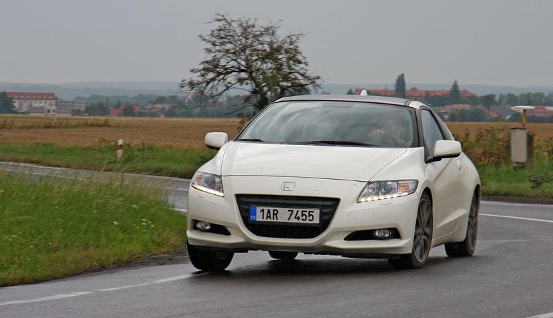 Test: Honda CR-Z: CeRtovsky-Zábavná: - fotka 19