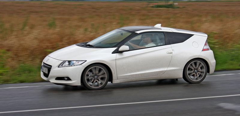 Test: Honda CR-Z: CeRtovsky-Zábavná: - fotka 21