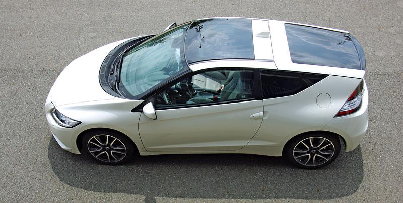 Test: Honda CR-Z: CeRtovsky-Zábavná: - fotka 23