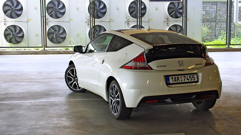 Test: Honda CR-Z: CeRtovsky-Zábavná: - fotka 25