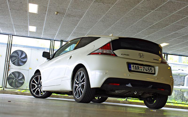 Test: Honda CR-Z: CeRtovsky-Zábavná: - fotka 26