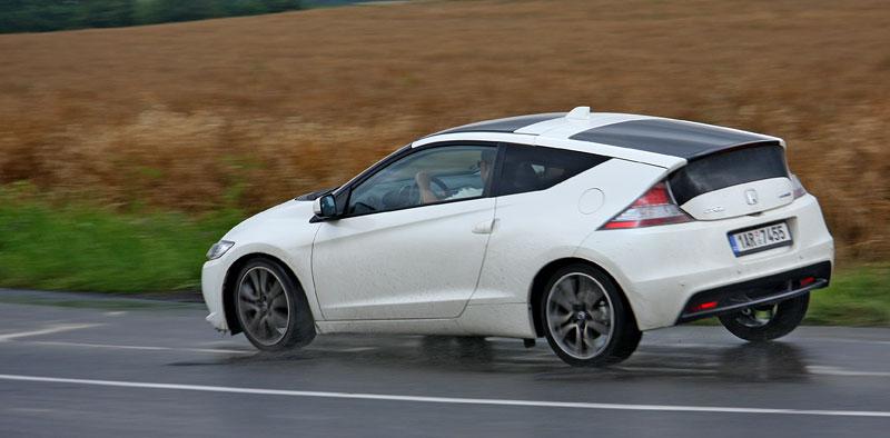 Test: Honda CR-Z: CeRtovsky-Zábavná: - fotka 27