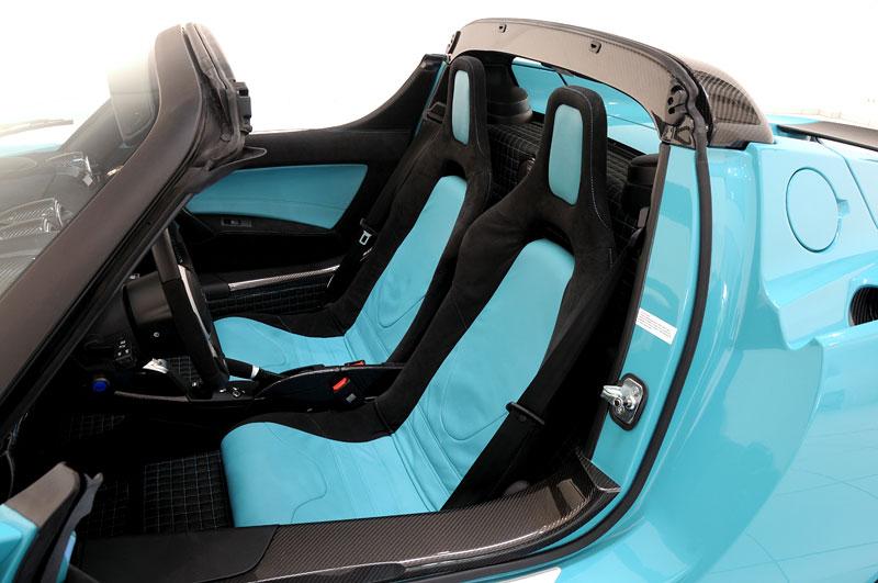 Brabus: nový Green Package pro Teslu Roadster Sport: - fotka 4