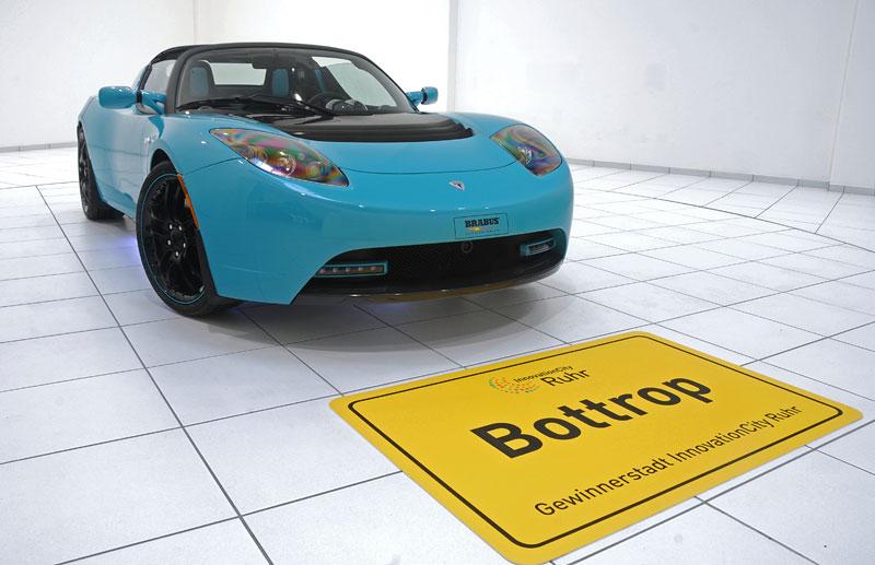 Brabus: nový Green Package pro Teslu Roadster Sport: - fotka 8