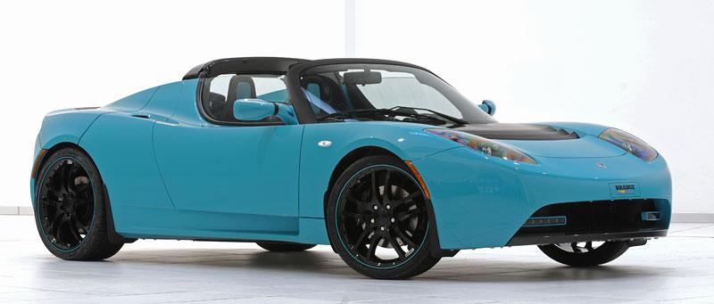 Brabus: nový Green Package pro Teslu Roadster Sport: - fotka 11