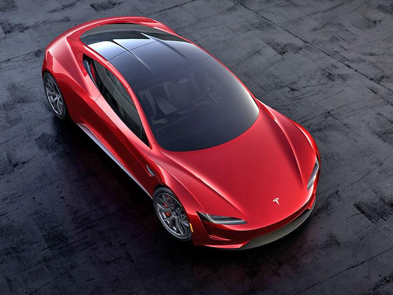 Elon Musk představil další bláznivou vizi. Příští Tesla Roadster se prý bude vznášet: - fotka 4