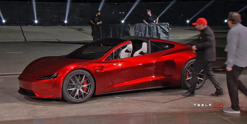 Elon Musk představil další bláznivou vizi. Příští Tesla Roadster se prý bude vznášet: - fotka 6