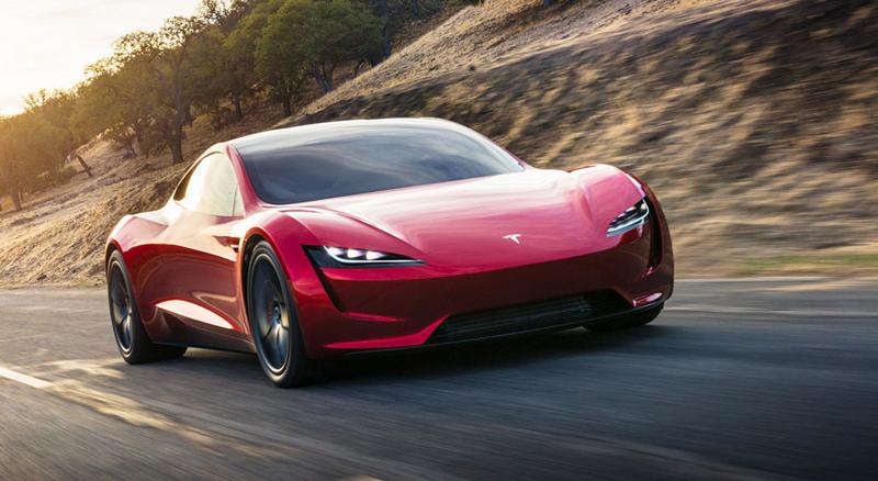 Elon Musk představil další bláznivou vizi. Příští Tesla Roadster se prý bude vznášet: - fotka 7