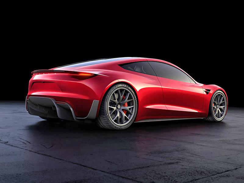 Elon Musk představil další bláznivou vizi. Příští Tesla Roadster se prý bude vznášet: - fotka 10