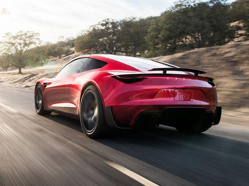 Elon Musk představil další bláznivou vizi. Příští Tesla Roadster se prý bude vznášet: - fotka 11